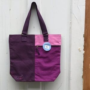 Life is Good tote ~ 100% cotton ~ NWT